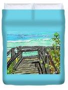 ocean / Beach crossover Duvet Cover