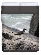 Ocean Bird Duvet Cover