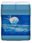 Ocean Blue Duvet Cover