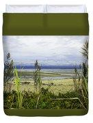 Ocean Calm Before Sunrise - Rocky Neck State Park Duvet Cover