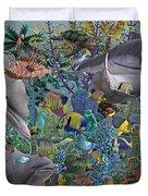 Ocean Circus Duvet Cover