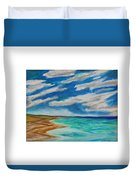 Ocean Clouds Duvet Cover