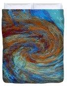 Ocean Colors Duvet Cover