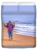 Ocean Fisherman Duvet Cover