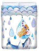 Ocean Girl Duvet Cover