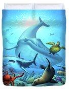 Ocean Life Duvet Cover