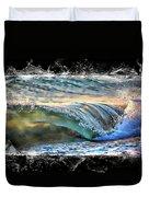 Ocean Motion Duvet Cover