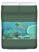Ocean Opabinia Duvet Cover