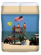 Ocean Rescue  Duvet Cover