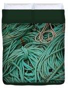 Ocean Ropes Duvet Cover