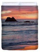 Ocean Sky Awash In Color Duvet Cover