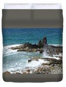 Ocean Spray Mid-air Duvet Cover