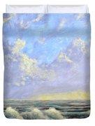 Ocean Storm Sunrise Duvet Cover