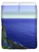 Ocean View From North Head Duvet Cover
