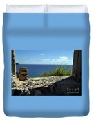 Ocean Window Duvet Cover