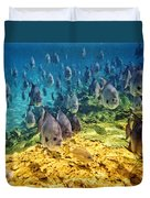 Oceans Below Duvet Cover