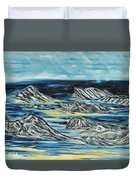 Oceans Of Worlds Duvet Cover