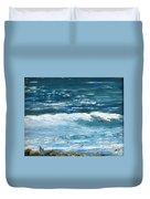Oceanside 3 O'clock Duvet Cover