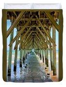 Oceanside Cathedral Duvet Cover