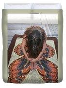 Ochopee Fl. Butterfly Duvet Cover