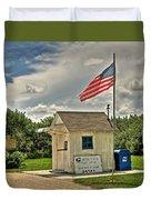 Ochopee Florida Post Office  Duvet Cover