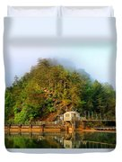 Ocoee Dam 2 Duvet Cover