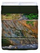 Ocoee Dam Reflection Duvet Cover