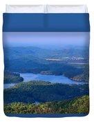 Ocoee Lake Duvet Cover