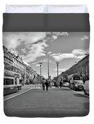 O'connell Street In Dublin Duvet Cover