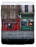 Oconnells Pub And The Batchelor Inn - Dublin Ireland Duvet Cover
