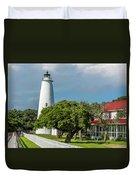 Ocracoke Island Lighthouse  Duvet Cover