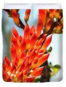 Octillo Flower. Duvet Cover