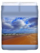 October Beach Duvet Cover