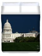 October Capitol Duvet Cover
