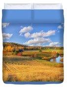 October Countryside 3 Duvet Cover