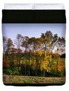 October Higlights Duvet Cover
