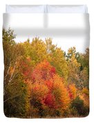 October In Maine 4 Duvet Cover