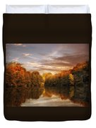 October Lights Duvet Cover