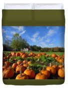 October Postcard  Duvet Cover