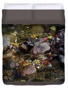 October Puddles Duvet Cover