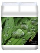 Big Drops Of Rain Duvet Cover