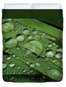 Drops Of Rain Duvet Cover