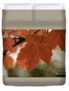 October Red Duvet Cover
