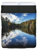 October Reflections Duvet Cover