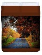 October Road Duvet Cover