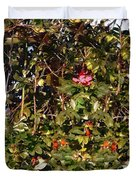 October Rose Duvet Cover