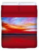 October Sky  Duvet Cover by James Christopher Hill