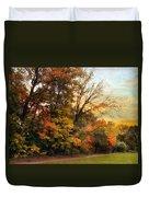 October Trail Duvet Cover