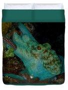 Octopus Yoga Duvet Cover