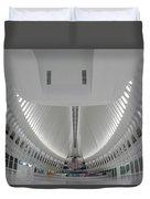 Oculus World Trade Center Wtc Transportation Hub Duvet Cover